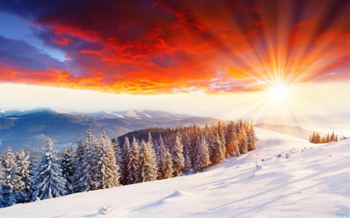 nature-landscapes_widewallpaper_the-beauty-of-a-winter-sunset_7617