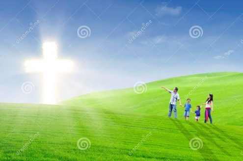 http://www.dreamstime.com/royalty-free-stock-image-christian-family-walk-toward-light-image28775916