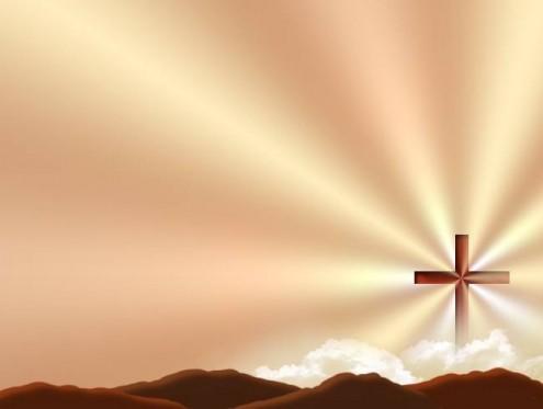 cross-sepia-ray-light