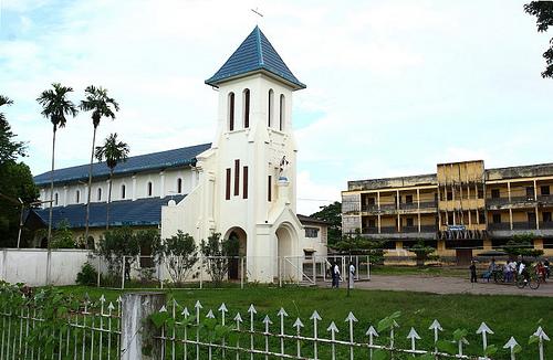 CatholicChurch-in-VientianeLaos