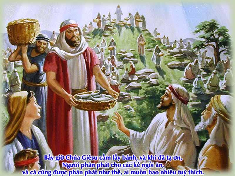 CHÚA NUÔI DƯỠNG DÂN NGÀI- Suy niệm CHÚA NHẬT XVII THƯỜNG NIÊN –B