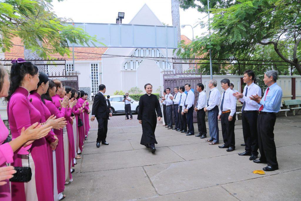 Giáo xứ Vũng Tàu: Đón chào Cha Tân Chánh xứ  Gioan Baotixita Nguyễn Văn Bộ
