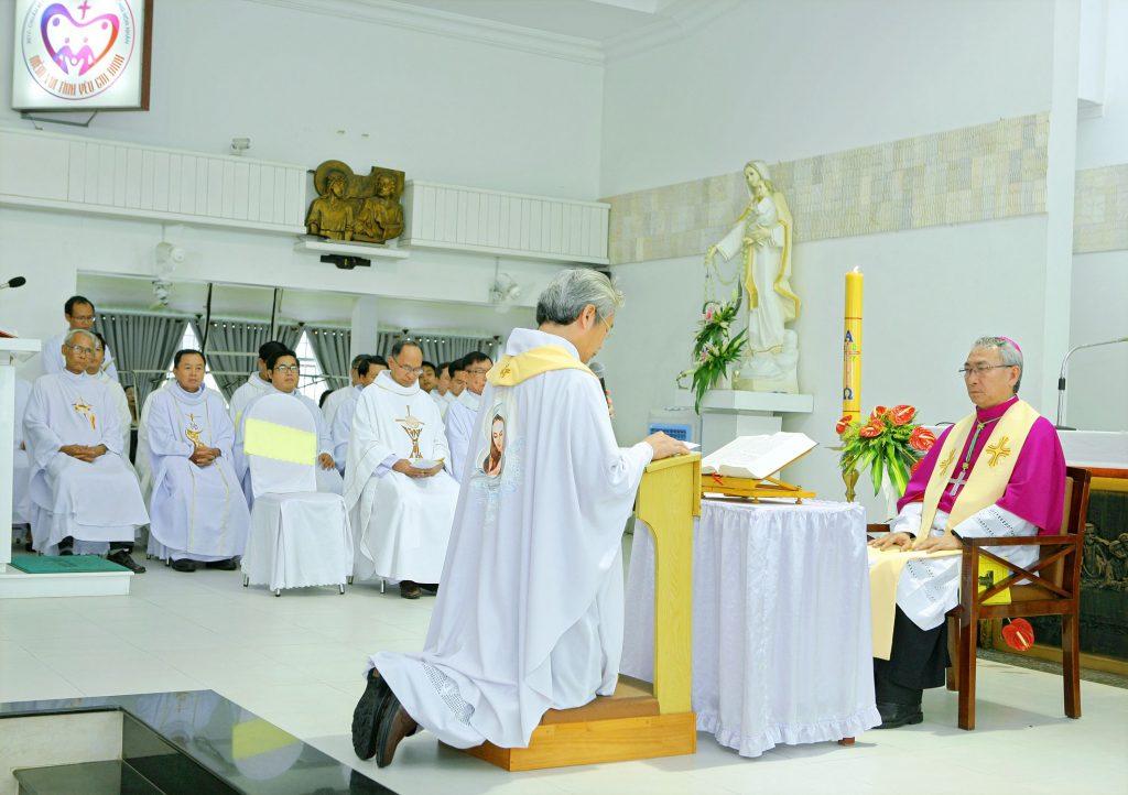 Giáo xứ Hải Xuân:  Đón chào Cha Tân Chánh xứ Giuse Maria Nguyễn Bá Thanh Minh