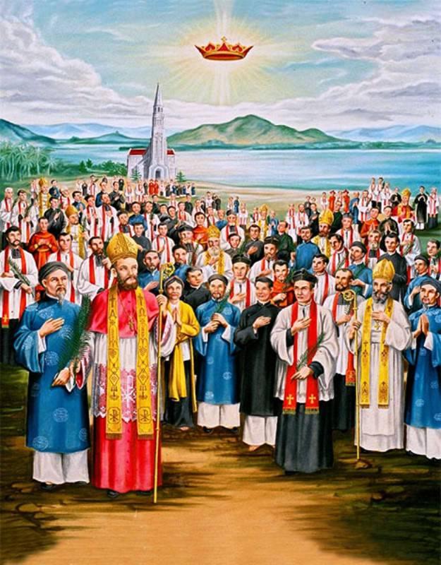 Billedresultat for Tôn vinh các Thánh Tử đạo Việt Nam