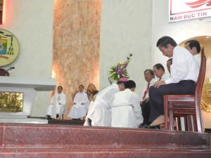 [Hình ảnh] Thánh lễ Tiệc Ly tại Nhà thờ Chánh Tòa