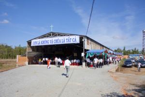 [Hình ảnh] Giáo họ Suối Rao chào đón linh mục phụ trách Phêrô Nguyễn Minh Hùng