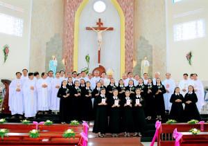 [Hình ảnh] Lễ khấn - Hội dòng Mến Thánh Giá Bà Rịa