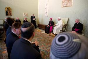 Đức Thánh Cha tiếp kiến Cộng đoàn Do thái ở Roma