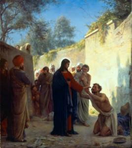 THỨ HAI TUẦN 33 THƯỜNG NIÊN Lc 18, 35 - 43.