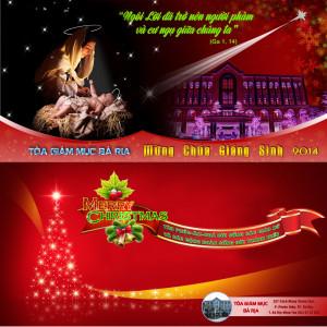 THƯ CHÚC MỪNG GIÁNG SINH 2014 VÀ NĂM MỚI 2015