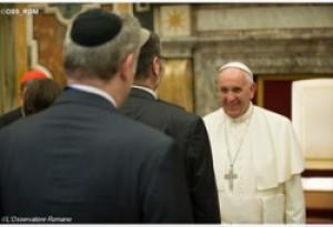 """Đức Thánh Cha Phanxicô: """"Người Kitô hữu và người Do Thái là anh em và là bạn hữu"""""""