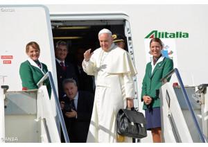 Đức Thánh Cha lên đường viếng thăm Cuba và Hoa Kỳ