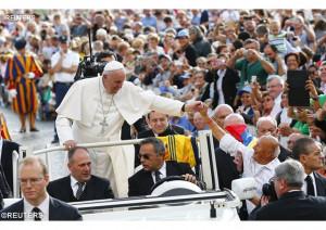 Đức Thánh Cha tiếp kiến các tín hữu hành hương: 7-10-2015