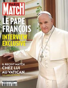 Đức giáo hoàng Phanxicô phát biểu trên tuần báo Paris-Match