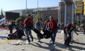 Đức Thánh Cha bày tỏ đau buồn sau vụ khủng bố tại Ankara, Thổ Nhĩ Kỳ