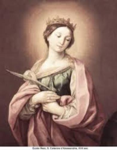 Thánh nữ Catarina thành Alexandria,trinh nữ, tử đạo - Giáo Phận Bà Rịa