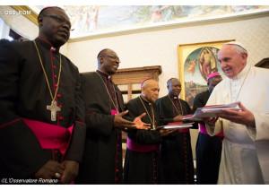 Đức Thánh Cha liên đới với Giáo Hội Trung Phi
