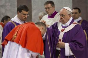 Đức Thánh Cha Phanxicô cử hành Lễ Tro và bổ nhiệm các Thừa sai Lòng Thương Xót
