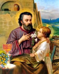 Thánh Giuse Bạn Hiền Trinh Nữ, Cha Nuôi Hài Đồng Giêsu