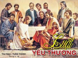 Thứ Năm - ĐỈNH CAO CỦA MẦU NHIỆM CỨU ĐỘ LÀ TÌNH YÊU- Jos. Vinc. Ngọc Biển