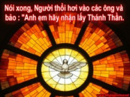 CHÚA THÁNH THẦN LÀ THẦN CHÂN LÝ - Jos.Vinc. Ngọc Biển