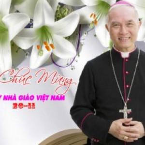 Thư của Đức cha Chủ Tịch Ủy Ban Giáo Dục Công Giáo gửi quí Thầy Cô giáo 2016