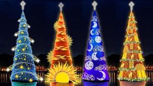 11 cây thông Noel đẹp và ấn tượng trên thế giới