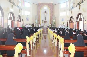 Hội dòng Mến Thánh Giá Bà Rịa: Thánh lễ Tạ ơn mừng Ngân khánh Giám mục Đức cha Tôma, mừng lễ Bổn mạng và Kỷ niệm ngày thành lập Hội dòng