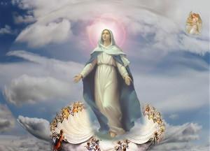 Hoan ca mừng Mẹ lên trời