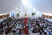 Đền Thánh Đức Mẹ Bãi Dâu: Thánh lễ mừng kỷ niệm 100 năm Đức Mẹ hiện ra tại Fatima