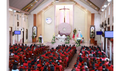Tin ảnh: Giáo hạt Bình Giã: Thánh lễ kính Lòng Chúa Thương Xót tháng 10.2017