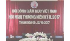 Biên bản Hội nghị thường niên kỳ II-2017 Hội đồng Giám mục Việt Nam