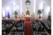 Đền Thánh Đức Mẹ Bãi Dâu: Thánh lễ khai mạc ngày hành hương kỷ niệm 100 năm Đức Mẹ Fatima
