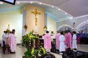 Tin Ảnh: Giáo xứ Xuân Hà: Chầu Thánh Thể thay Giáo phận