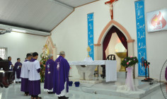 Giáo họ Biệt lập Hòa Hưng: Chầu Thánh Thể thay Giáo phận