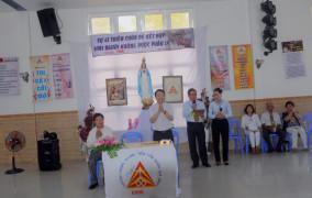 Giáo xứ Vinh Trung: Khai mạc Khóa Thăng tiến hôn nhân gia đình 708