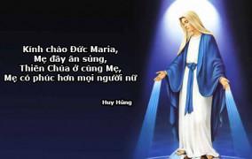 Ngày 08.12:  ĐỨC MARIAVÔ NHIỄM NGUYÊN TỘI