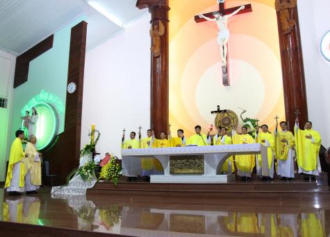 Giáo xứ Chu Hải: Thánh lễ Bế mạc Tuần Đại phúc