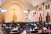 Tin Ảnh: Giáo xứ Long Điền: Thánh lễ tạ ơn kỷ niệm 1 năm ngày cung hiến thánh đường