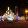 PHÓNG SỰ ẢNH: Bầu khí chuẩn bị Giáng sinh tại một số giáo xứ trong Giáo hạt Long Hương