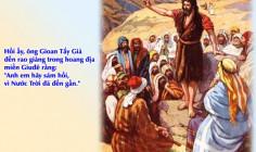 CÁC BÀI SUY NIỆM LỜI CHÚA  CHÚA NHẬT II MÙA VỌNG – NĂM B