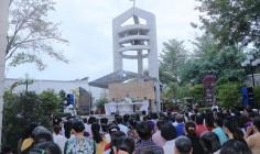 Nhà thờ Mồ Bà Rịa:  Đức cha Emmanuel dâng Thánh lễ mừng kỉ niệm các vị Tử đạo Bà Rịa