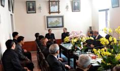 Phái đoàn Bộ Ngoại Giao của Tòa Thánh thăm Giáo phận Phát Diệm