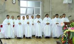 Giáo họ Biệt lập Xuân Trường: Thánh Lễ tạ ơn 5 năm linh mục của 15 Cha khóa IX và làm phép Nhà Giáo lý