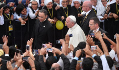 Đức Thánh Cha gặp gỡ các linh mục, tu sĩ, chủng sinh Peru