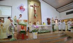 Giáo họ Biệt lập Vô Nhiễm:  Thánh lễ tạ ơn 5 năm hồng ân Linh mục của Cha Phụ trách