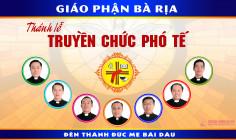 Video: Giới thiệu thánh lễ phong chức phó tế Giáo phận Bà Rịa - 2018