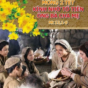 17.02.2018- Thứ Bảy sau lễ Tro- Mùng Hai Tết Nguyên đán