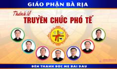 VIDEO: Giáo phận Bà Rịa: Thánh lễ phong chức Phó tế - 2018