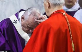Đức Thánh Cha chủ sự lễ Tro khai mạc Mùa Chay